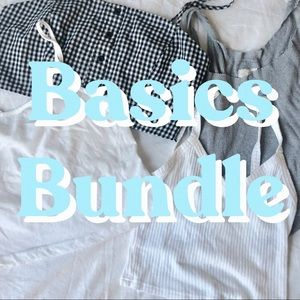 BASICS BUNDLE 🦋 TANK TOPS